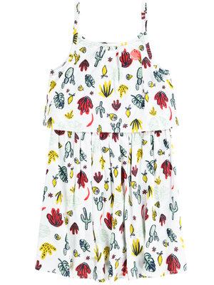 Tumble 'n Dry Tumble 'n Dry - Meisjes jurk Cambridge wit