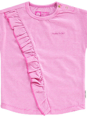 Tumble 'n Dry Tumble 'n Dry - Baby meisjes t-shirt Ertjee roze