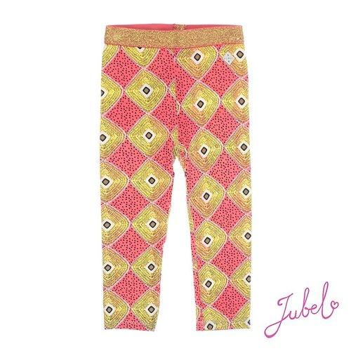 Jubel Meisjes legging aop oranje Jubel