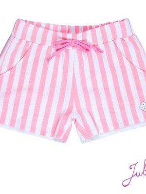 Jubel Meisjes short streep roze Jubel