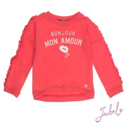 Jubel Meisjes sweater rood Jubel