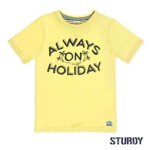 Sturdy Jongens t-shirt geel Sturdy