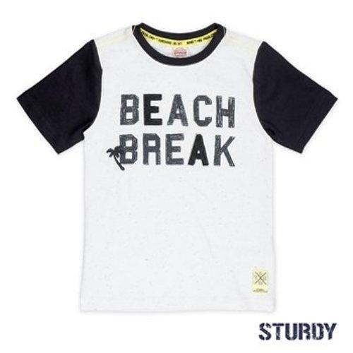 Sturdy Jongens t-shirt wit Sturdy
