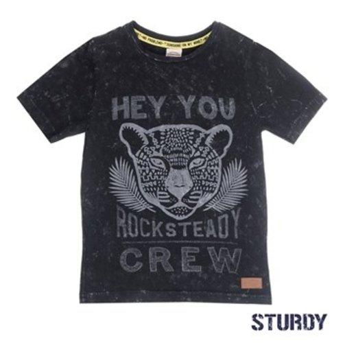 Sturdy Jongens t-shirt antraciet Sturdy