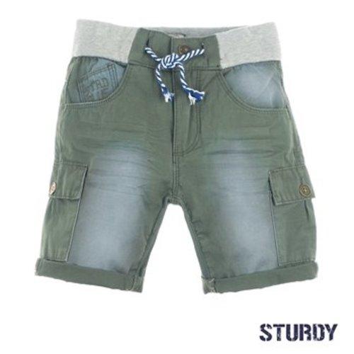 Sturdy Jongens short leger groen Sturdy