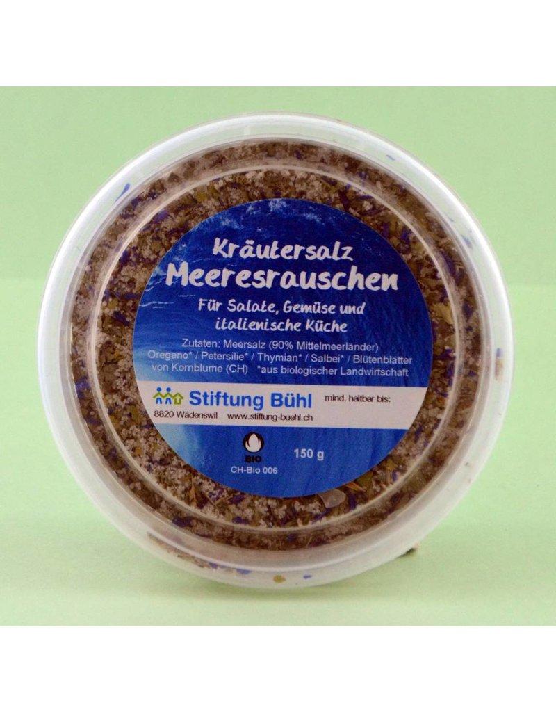 Hausmarke Stiftung Bühl Kräutersalz Meeresrauschen 150 g Nachfüllpack