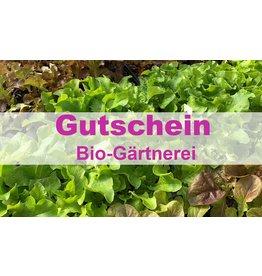 Bio-Gärtnerei Gutschein
