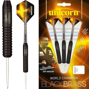 Unicorn Gary Anderson World Champion Black Brass P2