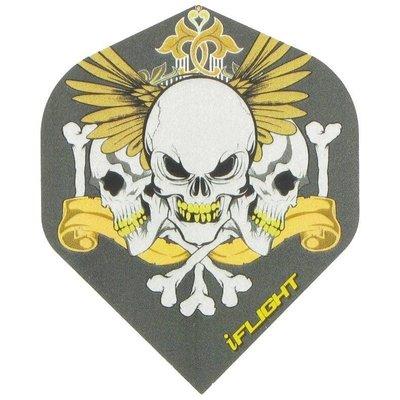 i - 3 Skulls Grey