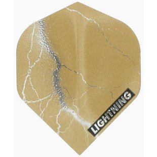 McKicks Metallic Lightning Flight Gold
