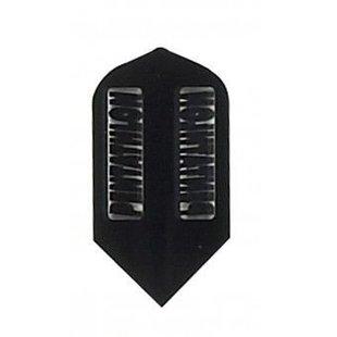 Pentathlon Slim Transparent Black