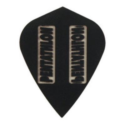 Pentathlon Transparent Kite Black