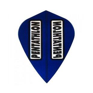 Pentathlon Transparent Kite Blue