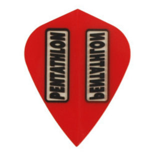 Pentathlon Transparent Kite Red