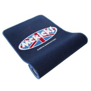 McKicks Carpet Dart Mat Blue + Oche 300 x 65 cm