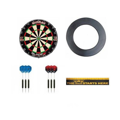 Super Dartshopper Set Brass