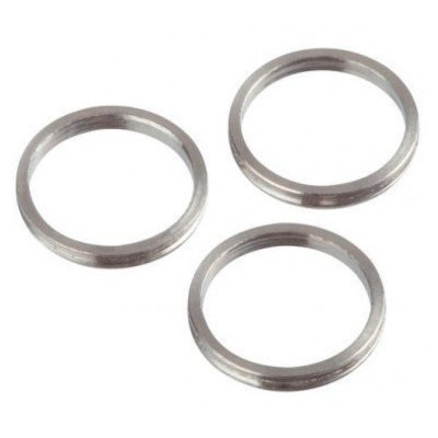 Target Pro Grip Shaft Rings Silver