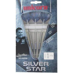 Unicorn Gary Anderson Silverstar 80% Tungsten 19g Soft Tip