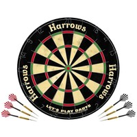 Harrows Harrows Let's Play Dartset Dartboard