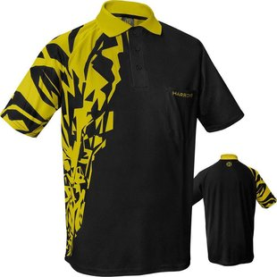 Harrows Rapide Yellow Dart Shirt