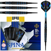 Harrows Harrows Spina Black & Blue 90% Soft Tip