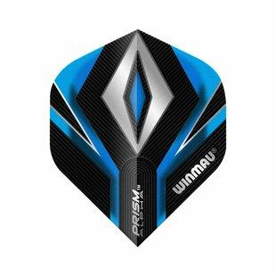 Winmau Prism Alpha Black & Blue