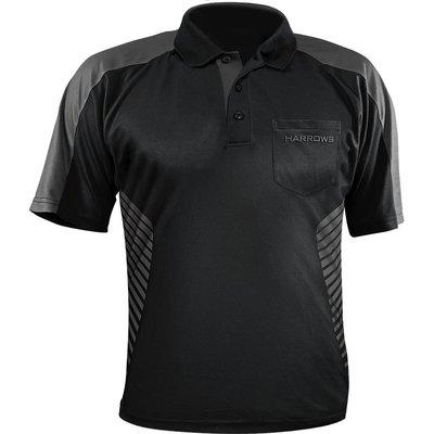 Harrows Vivid Dart Shirt Black & Grey