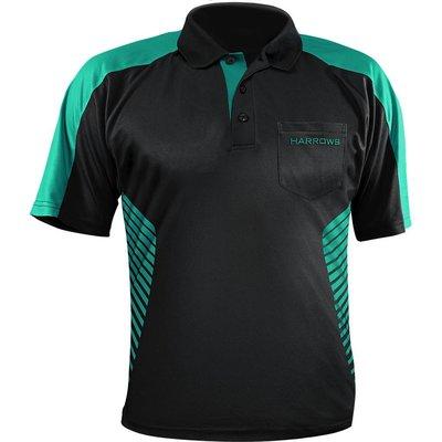 Harrows Vivid Dart Shirt Black & Jade