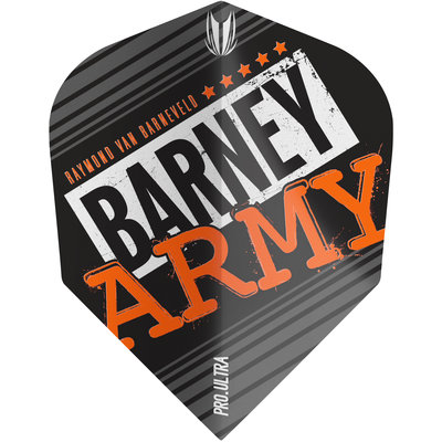 Target Barney Army Black NO6