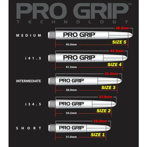 Target Target Pro Grip Shaft White
