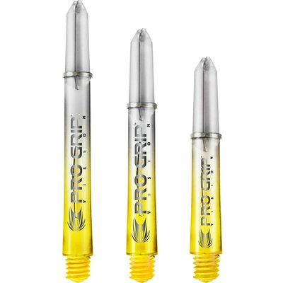 Target Pro Grip Vision Shafts Yellow