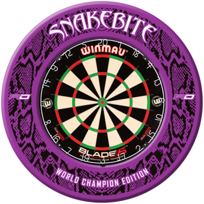 Snakebite World Champion 2020 Dartboard Surround