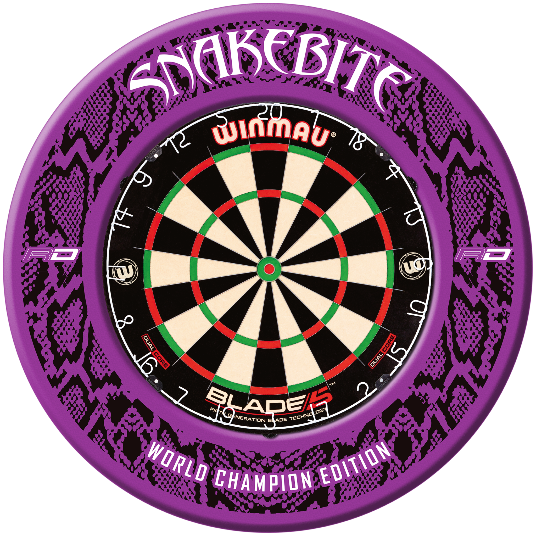 Winmau Prism Force Red Shafts Red Dragon Flights Peter Wright Purple Snake