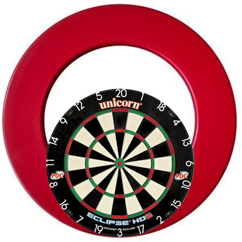 Dartshopper Eclipse HD2 PRO Surround Set Red