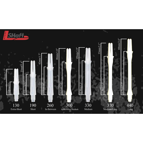 L-Style L-Style Laro Clear Red Shafts