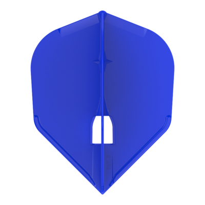 L-Style Champagne  L3 Shape Solid Blue