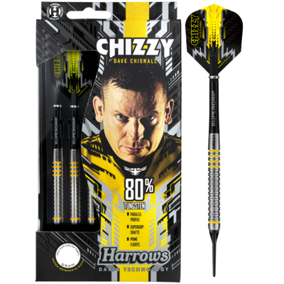 Harrows Dave Chisnall 80% Soft Tip