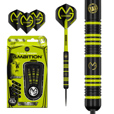 Michael van Gerwen Ambition Black Coated Brass