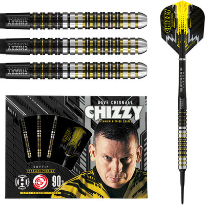 Harrows Dave Chisnall 90% Soft Tip