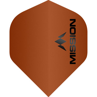 Mission Logo Std No2 Matte Orange