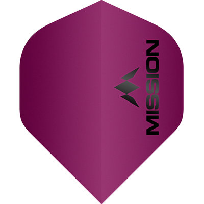 Mission Logo Std No2 Matte Pink