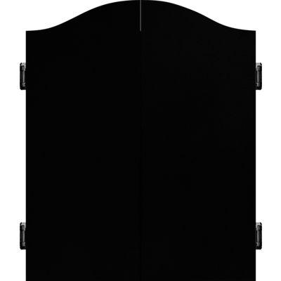 Mission Dartbord Deluxe Cabinet - Plain Black