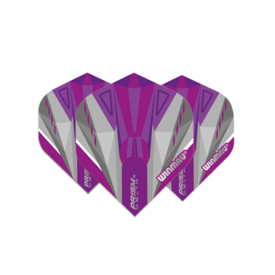 Winmau Prism Delta Purple & White