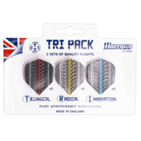 Harrows Harrows Supergrip  TRI PACK