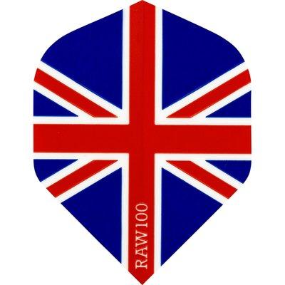 RAW 100 Union Jack  Red White & Blue