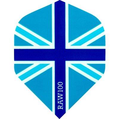 RAW 100 Union Jack  Blue