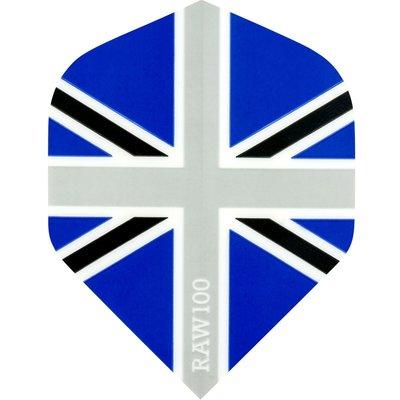 RAW 100 Union Jack  Black & Blue
