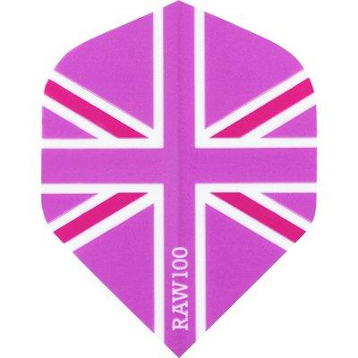 RAW 100 Union Jack  Pink