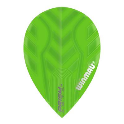Winmau Prism Zeta Pear Green