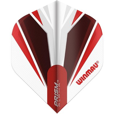 Winmau Prism Alpha White & Red